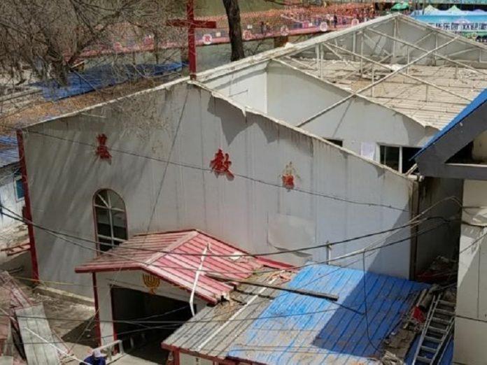 China culto cristiano