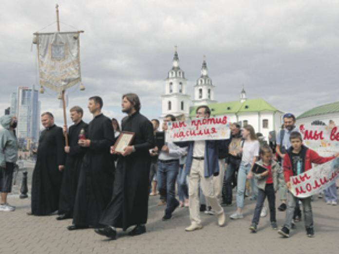 Católicos ortodoxos protestantes Bielorrusia