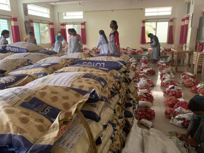 Religiosas India comer pandemia