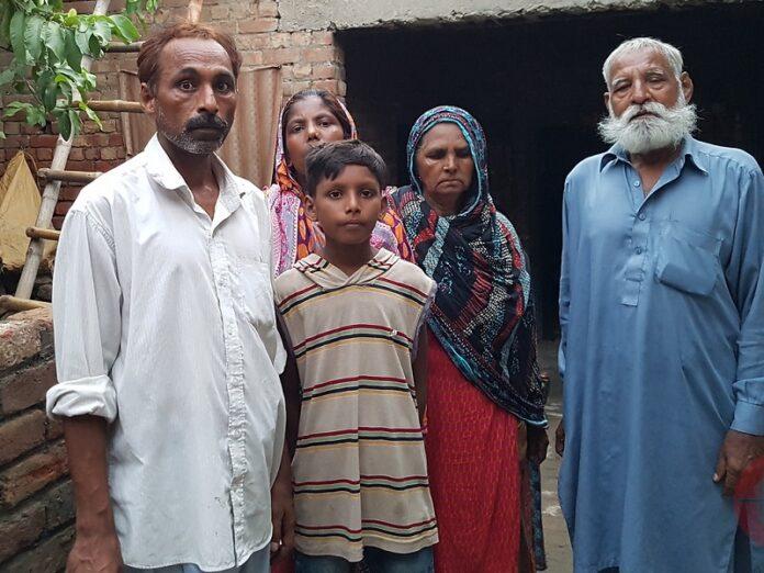 Católico pakistaní forzados islam