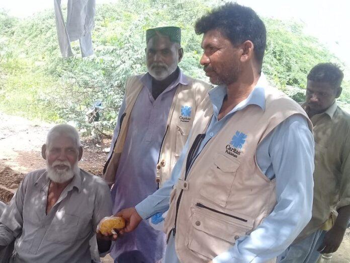 Voluntarios católicos inundaciones Pakistán