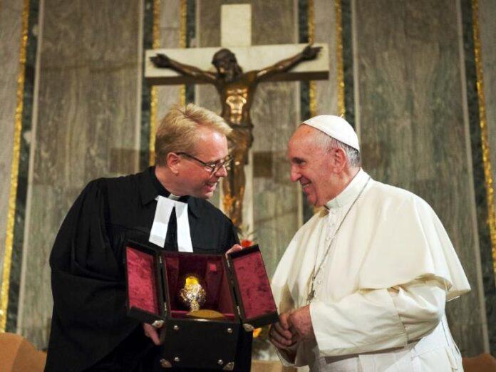 Vaticano católicos protestantes Eucaristía