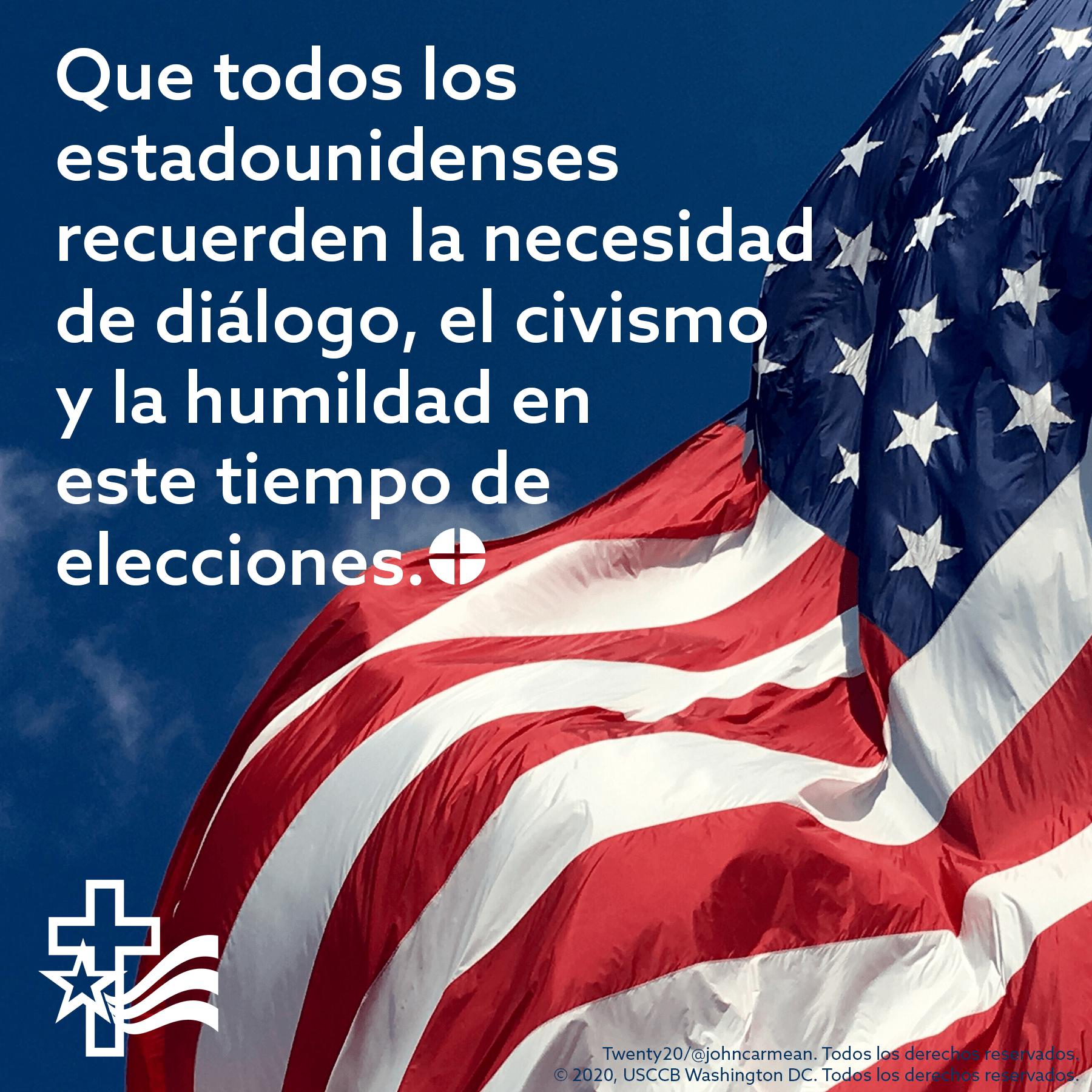 Católicos de Estados Unidos rezan novena por elecciones presidenciales