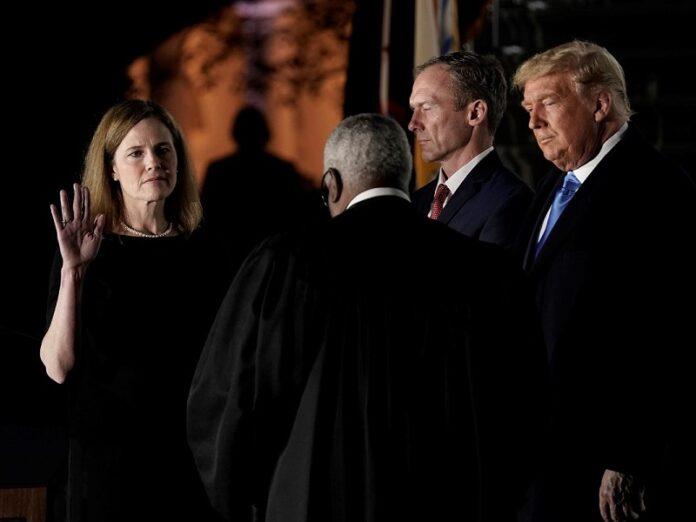 Amy Barrett nueva juez Estados Unidos