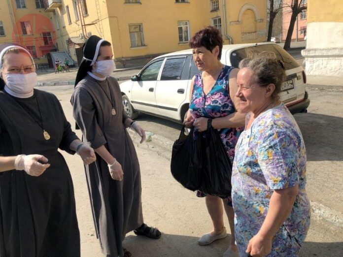 Religiosas Rusia marginados coronavirus