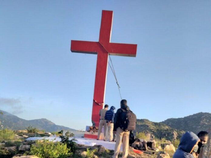 Autoridades India 15 cruces