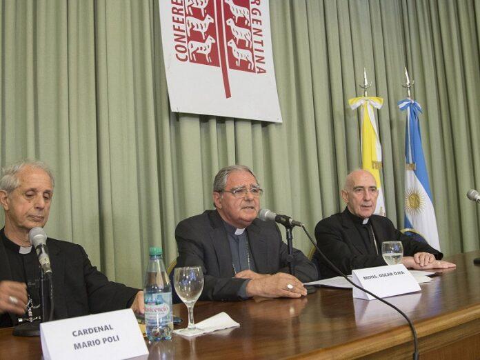 Argentina Iglesia no avala tomas