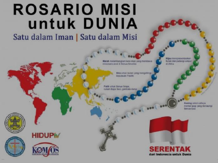 Católicos Indonesia Rosario Misionero