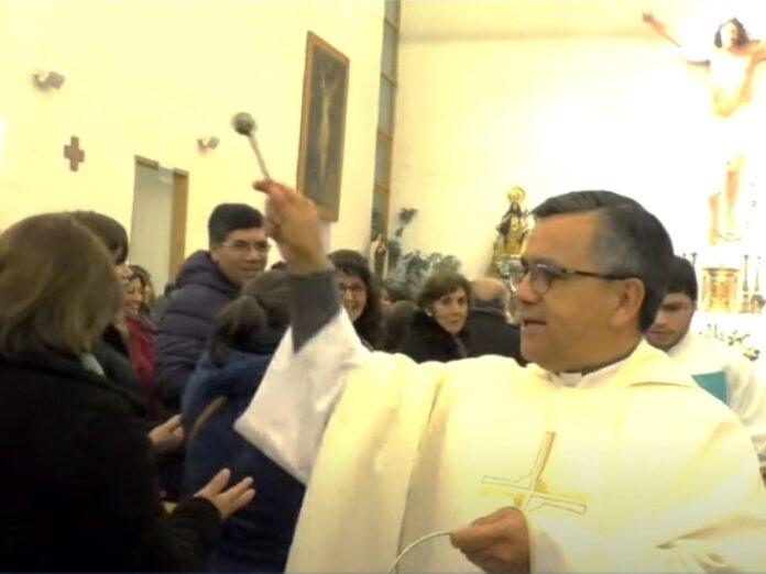 Exorcista chileno ataques a iglesias ritual satánico