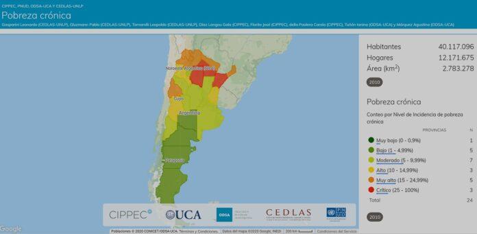 Argentina pobreza crónica