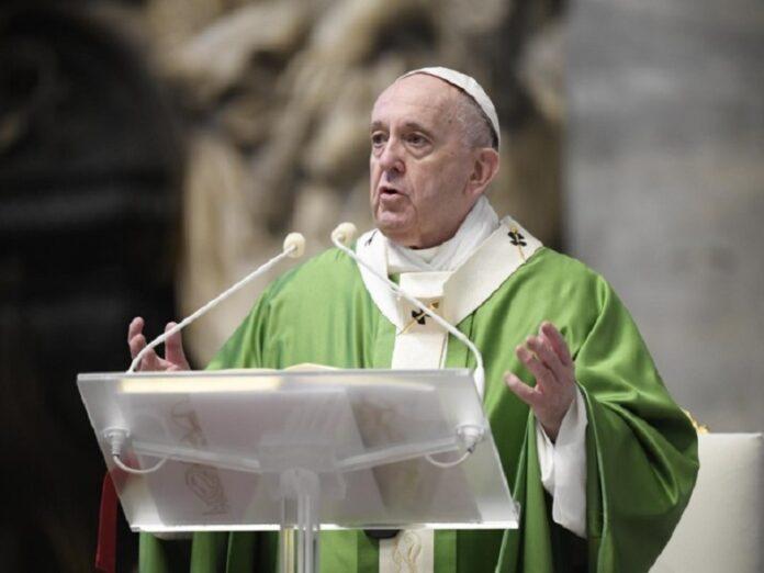 Francisco ver a Jesús en los pobres