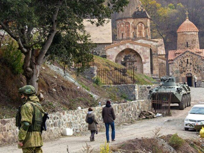 destino de iglesias y monasterios armenios