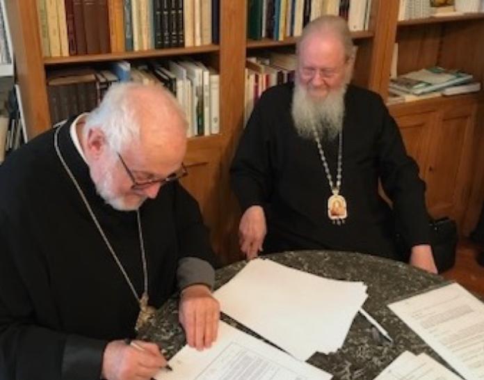 Acuerdo histórico ortodoxo Constantinopla