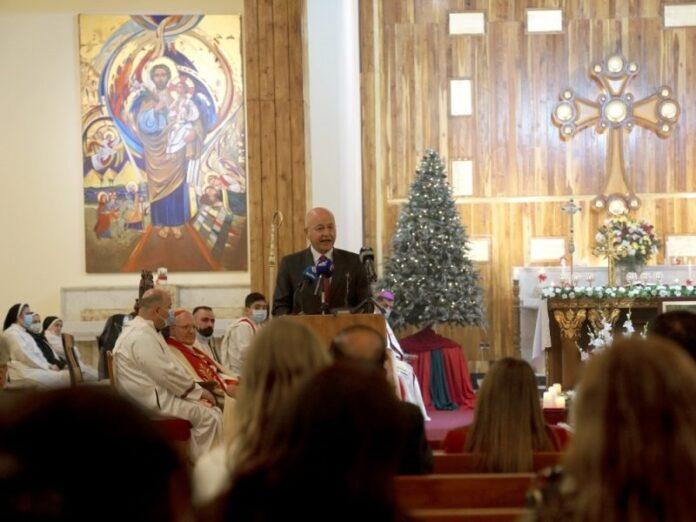 Presidente Salih Se debe proteger a los cristianos