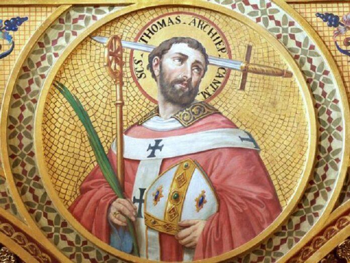 Casa Blanca conmemora el 850 aniversario del martirio de santo Tomás Becket