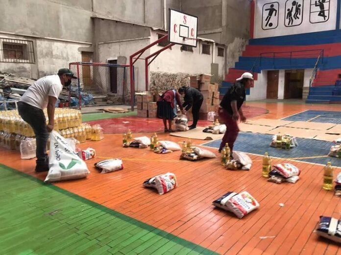 Caritas Bolivia ayuda humanitaria
