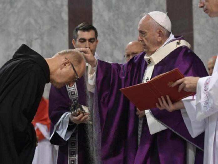 Santa Sede modifica Miércoles de Ceniza