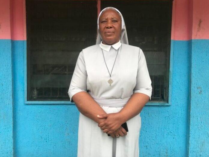 Religiosas en Nigeria niños