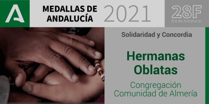 Religiosas reciben Medalla de Andalucía