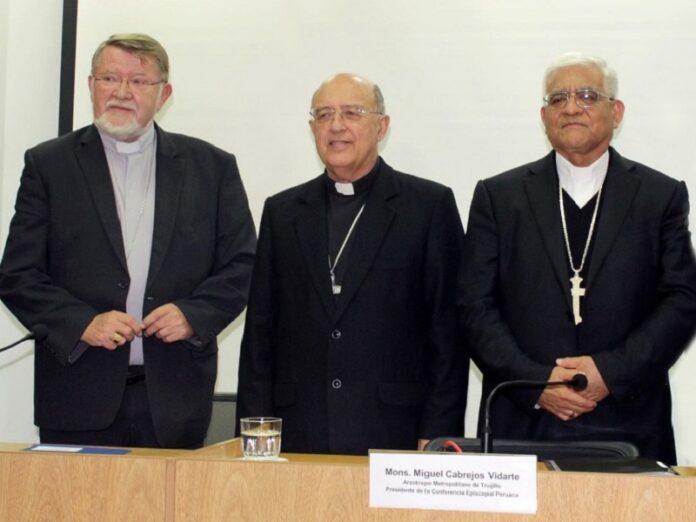 Obispos de Perú piden que se corrija