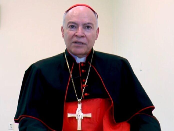 Cardenal Aguiar llama a celebrar