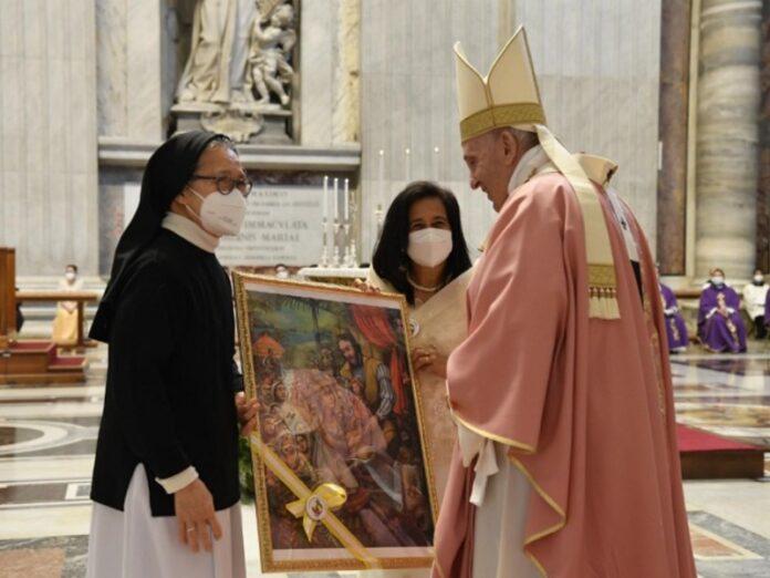 Francisco celebra 500 años de evangelización en Filipinas
