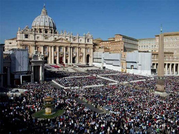 Número de católicos crece 15.000.000