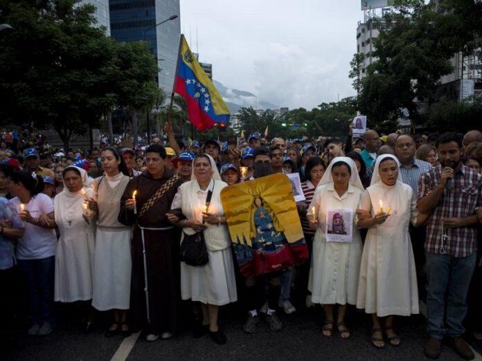 Iglesia católica en Venezuela mayor aprobación