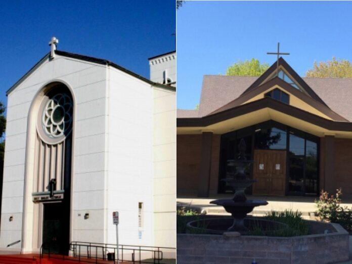 Vandalizan estatuas católicas en diócesis