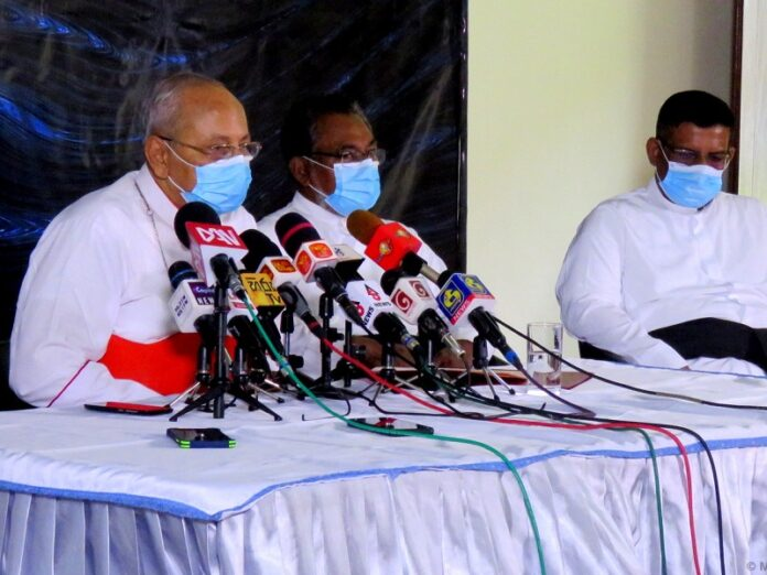 Cardenal de Sri Lanka reitera