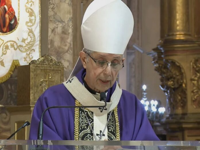 Cardenal Poli preside Misa por Jornada