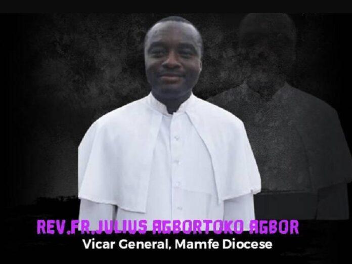 Secuestran a vicario general de diócesis