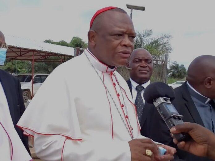 Cardenal Ambongo agradece oraciones