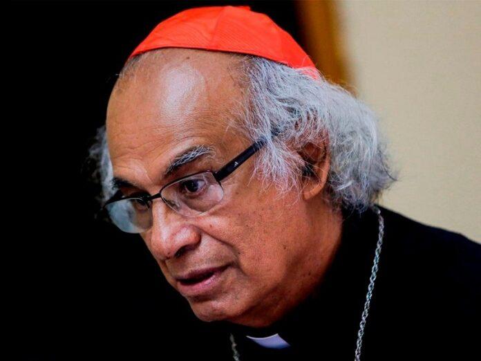 Cardenal Brenes reitera que no están