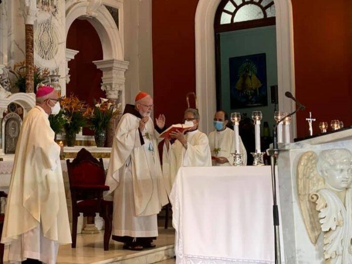 Cardenal O'Malley preside Misa