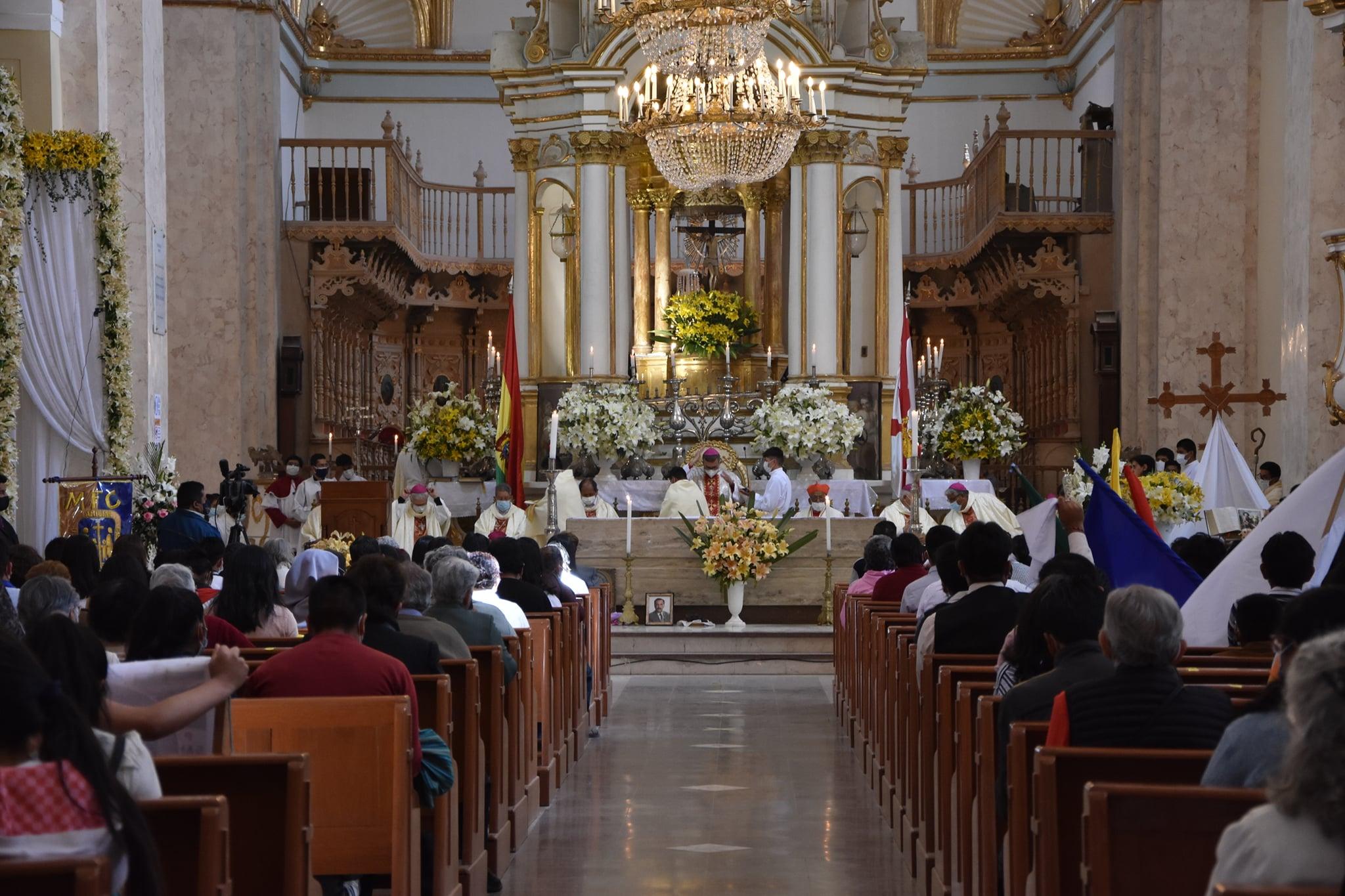 Arquidiócesis de Sucre es reconocida oficialmente