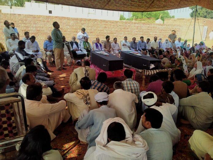 Cristianos de Pakistán piden justicia