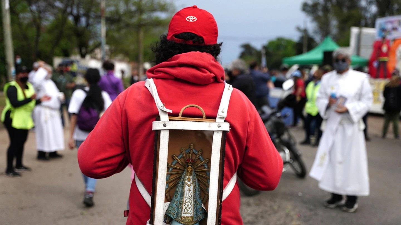 Miles de argentinos vuelven a peregrinar